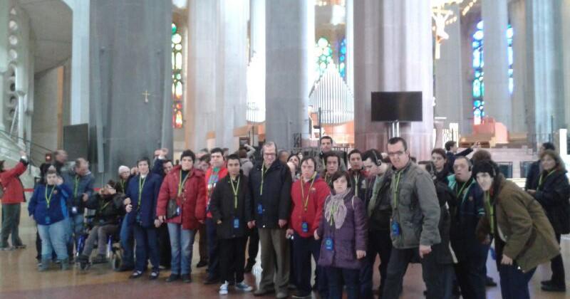 Visita al Temple de la Sagrada Familia