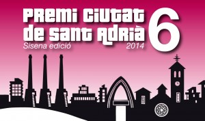Cartell Premi Ciutat Sant Adriá 2014