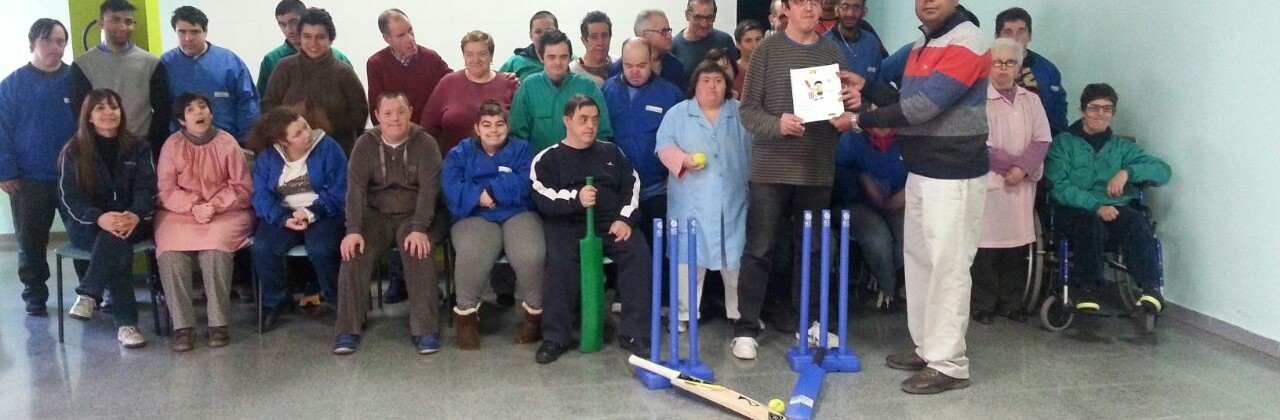 Nos visita la Federación Catalana de Cricket