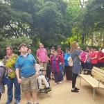 Visita al parc de Ca l'Arnús de Badalona