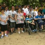 De visita al Parc del Poblenou