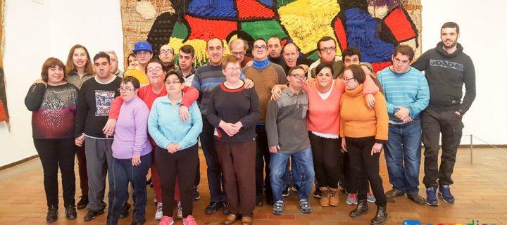 Aprodisa visita la Fundación Miró
