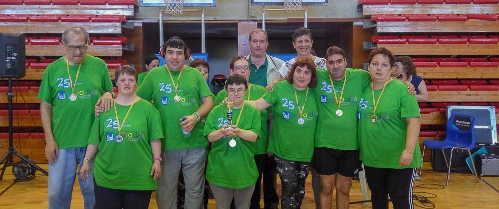 Participación de Aprodisa en la XXI Jornada de Deporte Adaptado