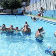Gaudint de la piscina al CT Sant Adrià