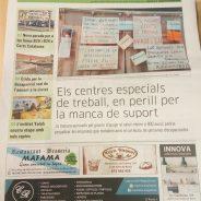La premsa es fa ressò de la situació dels CETS