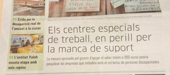 La prensa se hace eco de la situación de los CETS