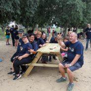 Activitat mediambiental de neteja de la ribera del riu Llobregat